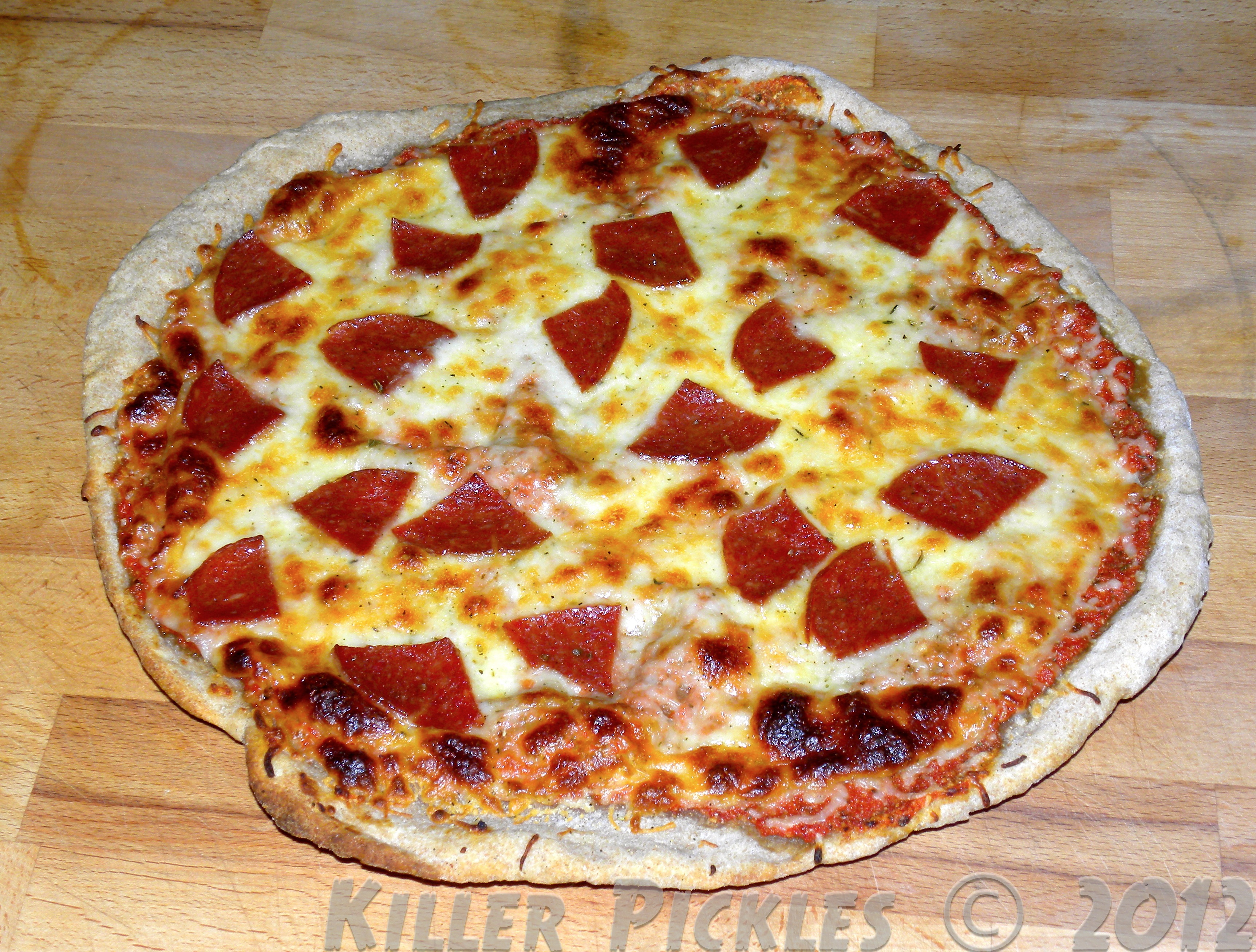 Quick & Easy Sourdough Pizza – I like to play with my food.