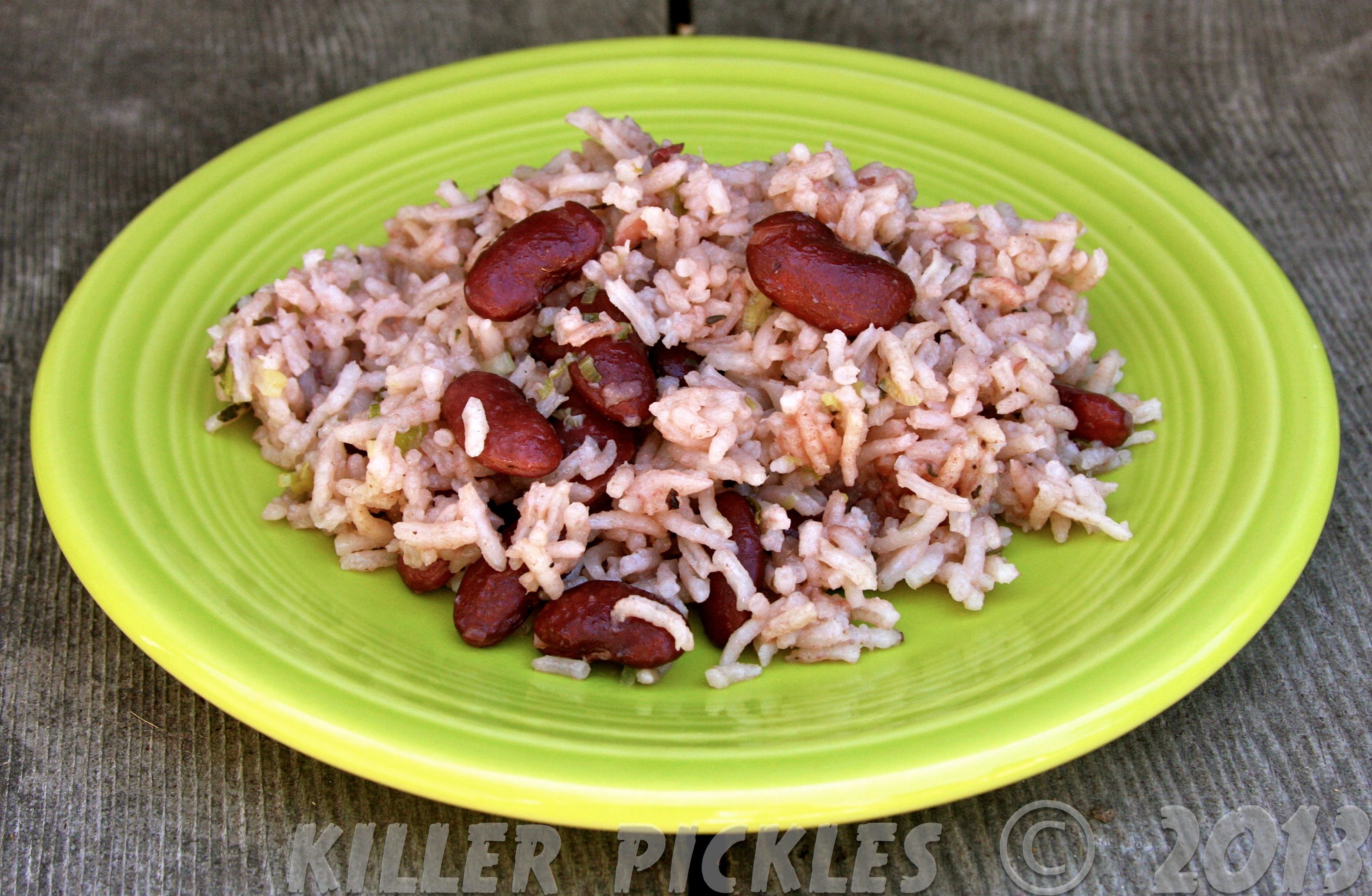 Jamaican Rice And Peas jamaican rice and peas – i like to play with ...