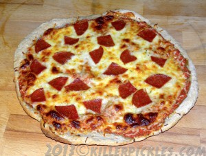 Quick & Easy weeknight pizza - from scratch!